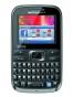 Fotografía Frontal del Motorola Motokey 3-Chip EX117 Marron. En la pantalla se muestra Facebook
