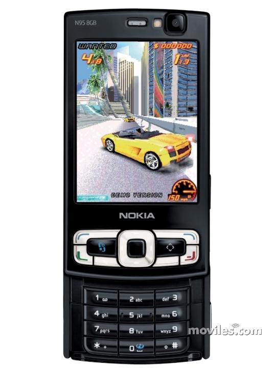 Nokia 8gb Moviles com N95 Photos France -